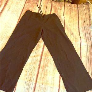 Size M black SB scrub pants